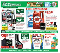 O'Reilly Auto Parts deals in the Oxnard CA weekly ad