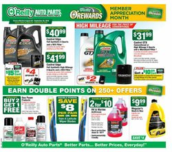 Automotive deals in the O'Reilly Auto Parts weekly ad in Garden Grove CA