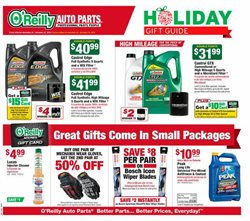 Automotive deals in the O'Reilly Auto Parts weekly ad in Van Nuys CA