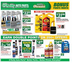 O'Reilly Auto Parts deals in the Los Angeles CA weekly ad