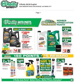 O'Reilly Auto Parts catalogue in Riverside CA ( Expires today )