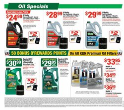 Automotive deals in the O'Reilly Auto Parts weekly ad in Los Angeles CA