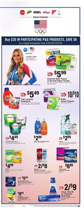 Tissues deals in the Stop&Shop weekly ad in New York