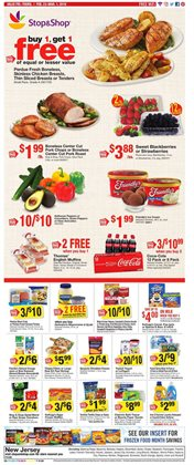 Beverages deals in the Stop&Shop weekly ad in New York