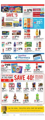 Slacks deals in the Stop&Shop weekly ad in New York