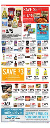 Milk deals in the Stop&Shop weekly ad in New York