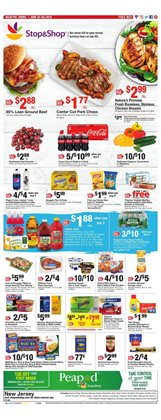 Chicken deals in the Stop&Shop weekly ad in Poughkeepsie NY