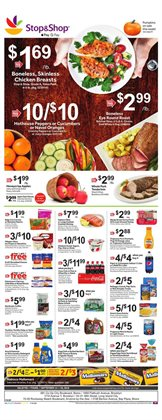 Stop&Shop deals in the Needham MA weekly ad