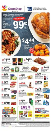 Chicken deals in the Stop&Shop weekly ad in White Plains NY
