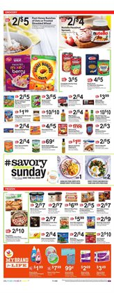 Breakfast deals in the Stop&Shop weekly ad in New York