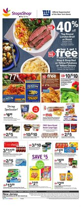 Potatoes deals in the Stop&Shop weekly ad in Poughkeepsie NY