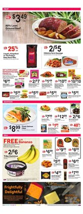 Fish deals in the Stop&Shop weekly ad in New York
