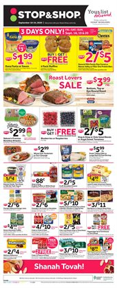 Stop&Shop catalogue ( Expires today )