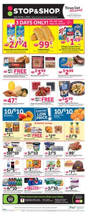 Grocery & Drug offers in the Stop&Shop catalogue in North Dartmouth MA ( 3 days left )