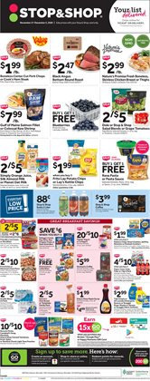 Grocery & Drug offers in the Stop&Shop catalogue ( 3 days left )