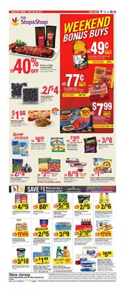 Stop&Shop deals in the Worcester MA weekly ad