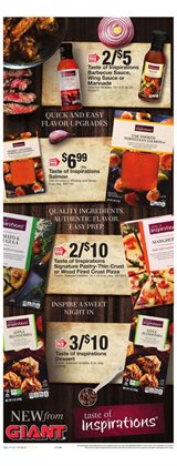 Barbecue deals in the Giant Food weekly ad in Newark DE