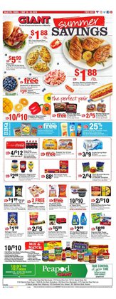 Giant Food deals in the Philadelphia PA weekly ad