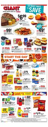 Giant Food deals in the Reading PA weekly ad