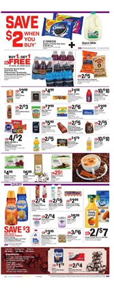 Milk deals in the Giant Food weekly ad in Reading PA