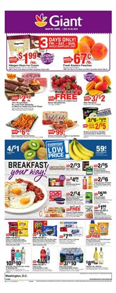 Giant Food deals in the Baltimore MD weekly ad