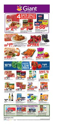Giant Food deals in the Silver Spring MD weekly ad