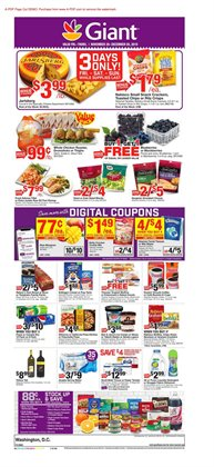 Giant Food deals in the Washington-DC weekly ad