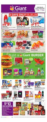 Giant Food catalogue ( 1 day ago )