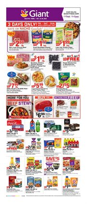New deals in Giant Food
