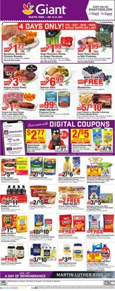 Grocery & Drug offers in the Giant Food catalogue in Sterling VA ( Expires today )