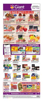 Giant Food catalogue ( Expires today )