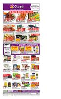 Grocery & Drug deals in the Giant Food catalog ( 4 days left)