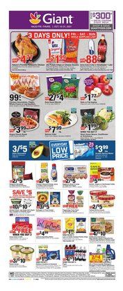 Grocery & Drug deals in the Giant Food catalog ( Published today)