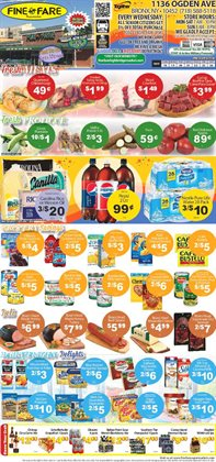 Nestle deals in the Fine Fare weekly ad in New York