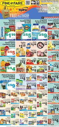 Soup deals in the Fine Fare weekly ad in New York