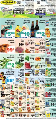 Mars deals in the Fine Fare weekly ad in New York