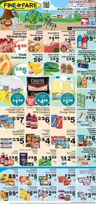 Kellogg's deals in the Fine Fare weekly ad in New York