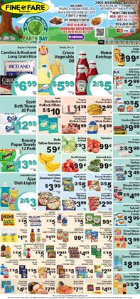 Oil deals in the Fine Fare weekly ad in New York