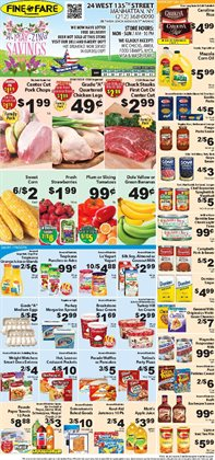 Cheerios deals in the Fine Fare weekly ad in New York