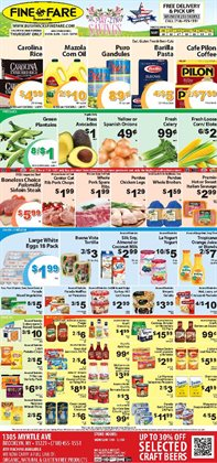 Juice deals in the Fine Fare weekly ad in New York
