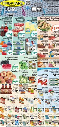 Yogurt deals in the Fine Fare weekly ad in New York