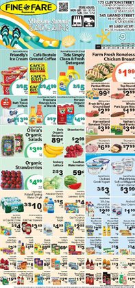 Detergent deals in the Fine Fare weekly ad in New York