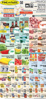 Tropicana deals in the Fine Fare weekly ad in New York