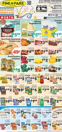 Gatorade deals in the Fine Fare weekly ad in New York