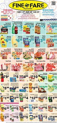 Pepsi deals in the Fine Fare weekly ad in New York