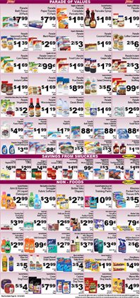 Diapers deals in the Fine Fare weekly ad in New York