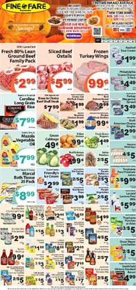 Bedroom deals in the Fine Fare weekly ad in New York