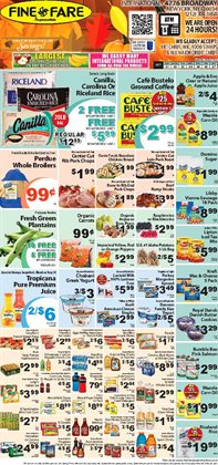 Butter deals in the Fine Fare weekly ad in New York