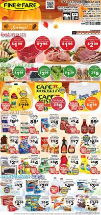 Canon deals in the Fine Fare weekly ad in New York