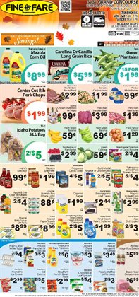 Music deals in the Fine Fare weekly ad in New York
